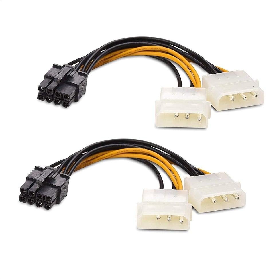 Molex-коннекторы для подключения видеокарты